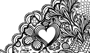 I Heart Virginia Staunton Mary Baldwin Coloring Page