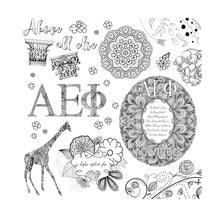 Alpha Epsilon Phi Adult Coloring Book-Craft and Color Co-College Coloring Books