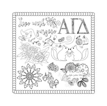 Alpha Gamma Delta Coloring Book