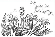 Alpha Epsilon Phi AEPhi Coloring Note Cards-Craft and Color Co-College Coloring Books-Bees Knees