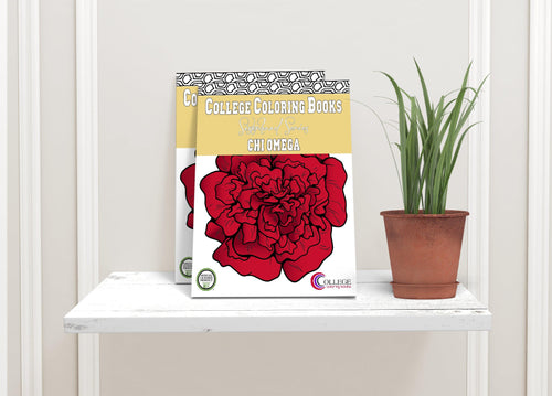 Chi Omega CHI O Coloring Book-Craft and Color Co