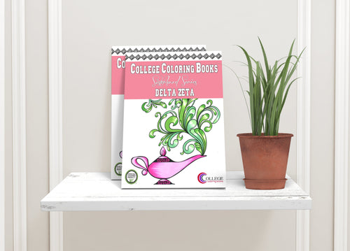 Delta Zeta DZ Coloring Book-Craft and Color Co