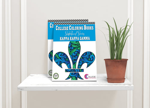 Kappa Kappa Gamma KKG Coloring Book-Craft and Color Co