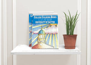 University of Dayton Color Me UD Adult Coloring Book-Craft and Color Co