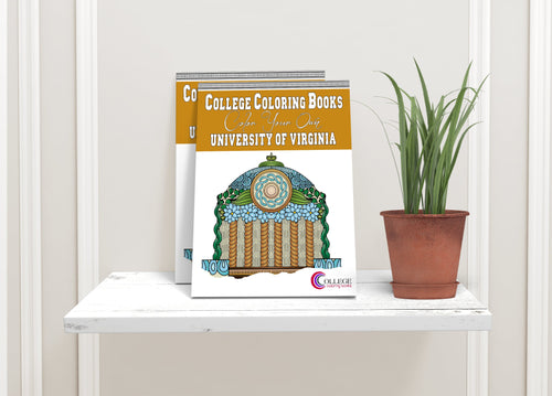 College Coloring Books: Color Your Own University of Virginia-Craft and Color Co