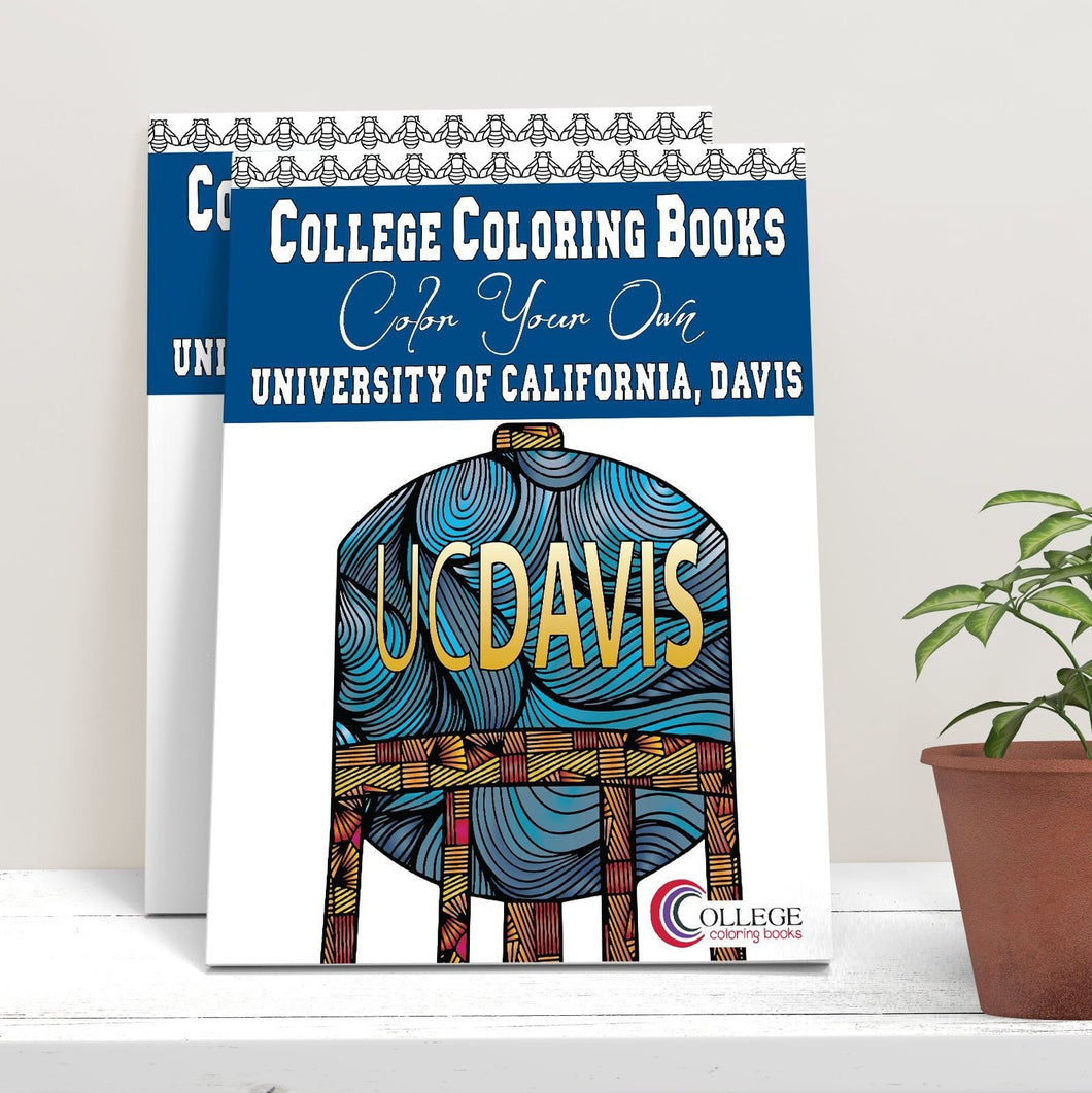 University of California Davis Coloring Book-Craft and Color Co