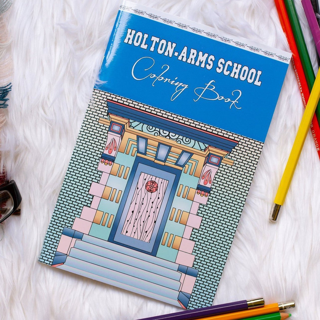 Holton-Arms School Coloring Book-Craft and Color Co