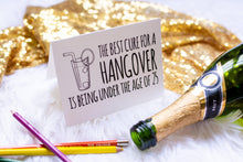 Funny Hangover Cure Greeting Card-Craft and Color Co