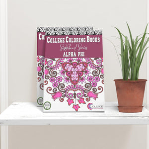 Alpha Phi APhi Coloring Book-Craft and Color Co