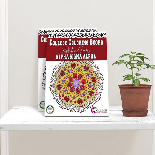 Alpha Sigma Alpha ASA Coloring Book-Craft and Color Co