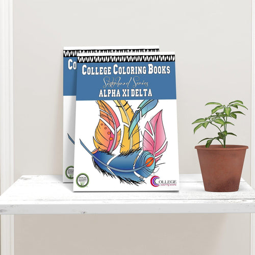 Alpha Xi Delta AXiD Coloring Book-Craft and Color Co