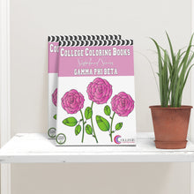Gamma Phi Beta GPhiB Coloring Book-Craft and Color Co