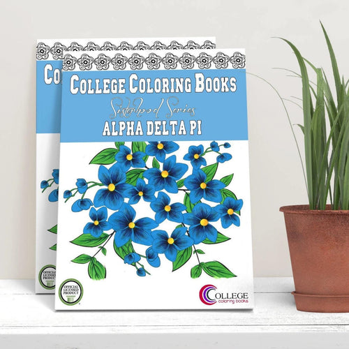 Alpha Delta Pi ADPi Coloring Book-Craft and Color Co