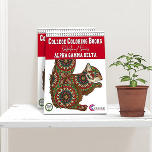 Alpha Gamma Delta AGD Coloring Book-Craft and Color Co