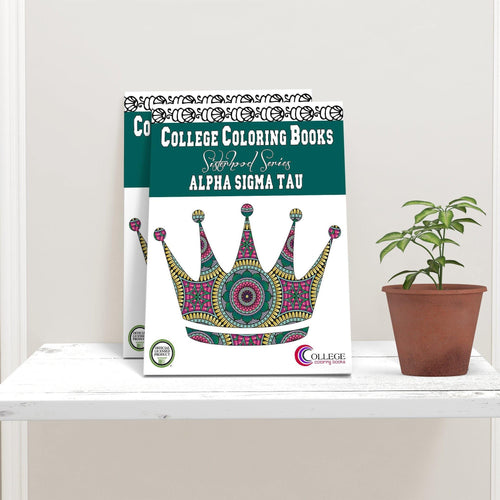 Alpha Sigma Tau Coloring Book-Craft and Color Co