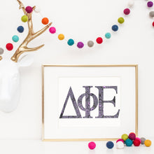 Delta Phi Epsilon Greek Letter Coloring Poster-Craft and Color Co