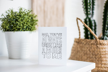 "Funny Father's Day Note Card Instant Download ""Like a Father to Me"""