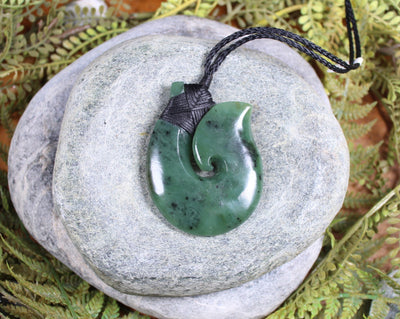 New Zealand Greenstone Whale Tail