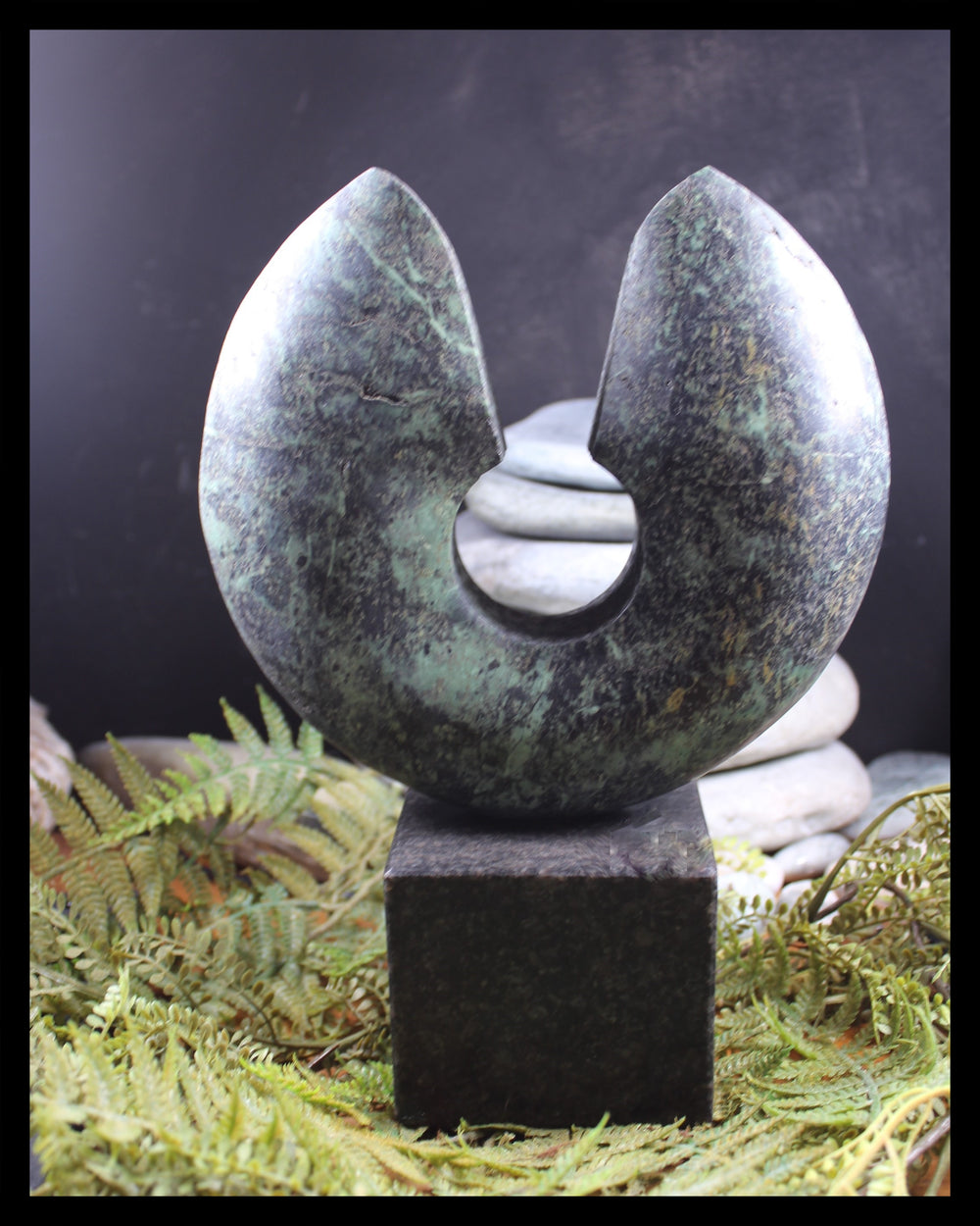 TERMINUS NZ Serpentine Pounamu by Matthew Williams