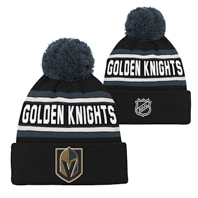 Vegas Golden Knights Youth Pom Beanie Hat