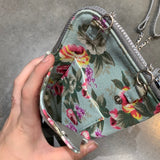 Golden Knights Floral Purse