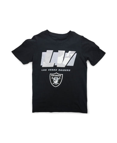 Las Vegas Raiders LV Storm Youth T-Shirt - Black