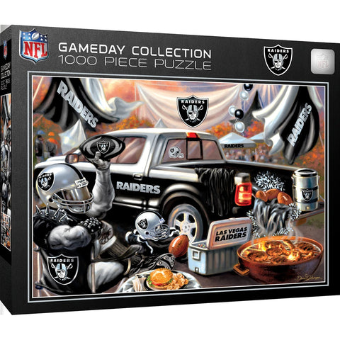 Raiders 1000 Piece Gameday Collection Puzzle