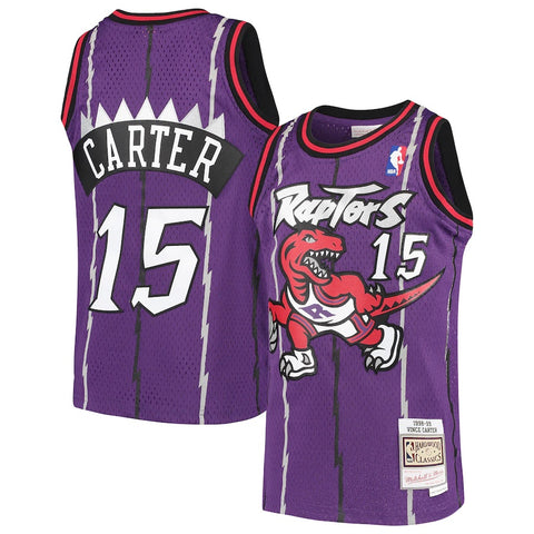Raptors Vince Carter 1998-99 Swingman Jersey - Purple