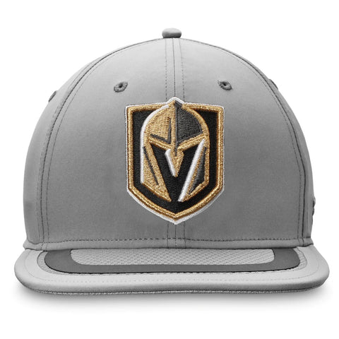 Vegas Golden Knights Fanatics Branded Authentic Pro Home Ice Second Season Snapback Hat - Gray