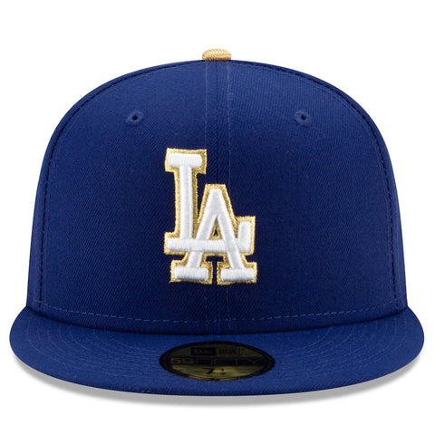 Los Angeles Dodgers 2021 Gold Program World Champions 59FIFTY Fitted Hat ***