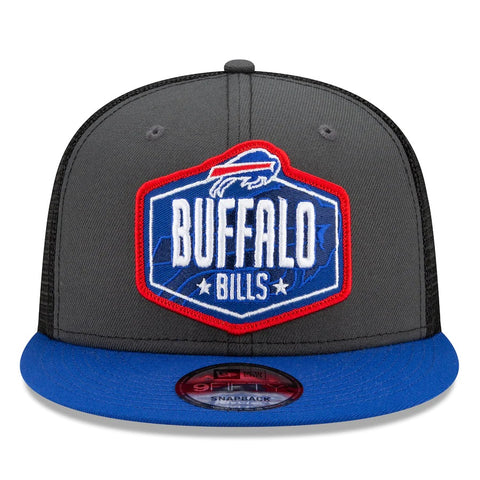 Buffalo Bills New Era 2021 Draft Trucker 9FIFTY Snapback Adjustable Hat