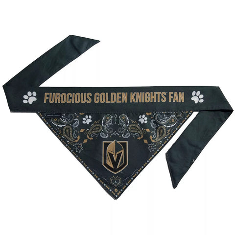Golden Knights Pet Bandana