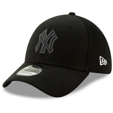 Yankees Black New Era Clubhouse Collection 39THIRTY Flex Hat