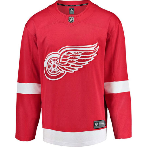 Detroit Red Wings Men's Replica Fanatics Home Jersey