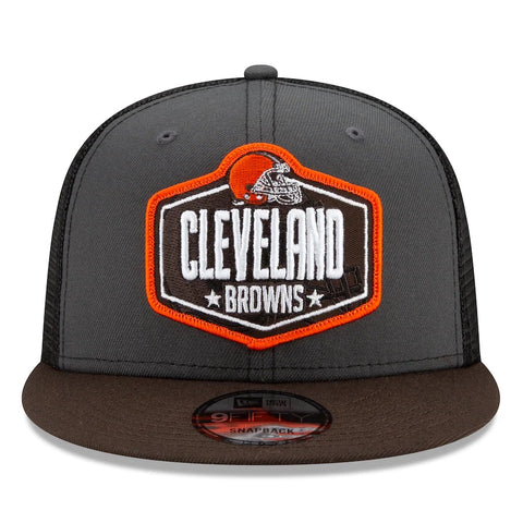Cleveland Browns New Era 2021 Draft Trucker 9FIFTY Snapback Adjustable Hat