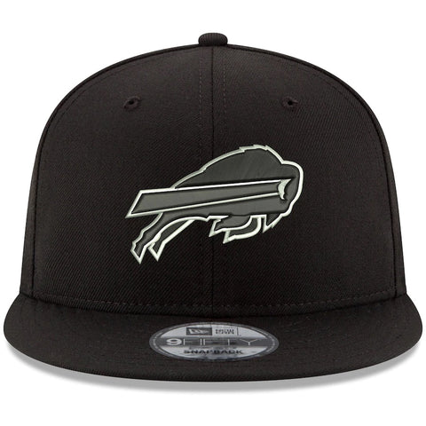 Buffalo Bills New Era B-Dub 9FIFTY Adjustable Hat - Black