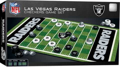 Raiders Checkers Board Game