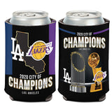 Los Angeles 2020 Dual Champions City of Champions 12oz. Can Cooler