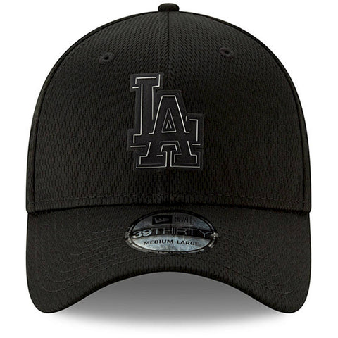sale retailer 62f52 a38c4 Dodgers Black New Era Clubhouse Collection 39THIRTY Flex Hat