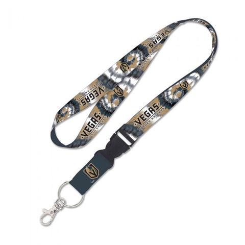 Golden Knights Tie Dye Lanyard w/ Detachable Buckle