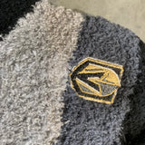 Golden Knights Stripe Fuzzy Socks