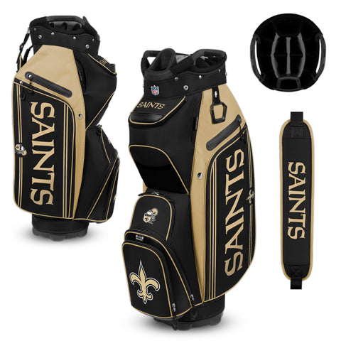 New Orleans Saints Bucket Cooler Cart Golf Bag
