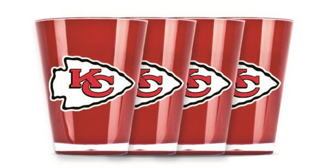 Chiefs Insulated Shotglass 4 Pack