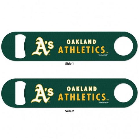 Athletics SLOGAN METAL BOTTLE OPENER 2 SIDED