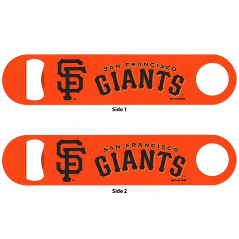 San Francisco Giants Slogan Metal 2-Sided Bottle Opener