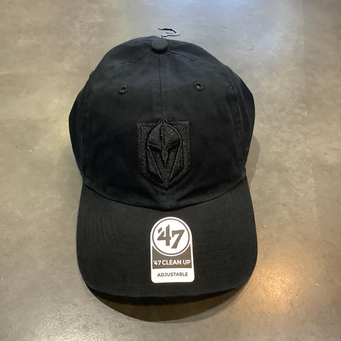 Golden Knights Black on Black Clean Up Slouch Hat