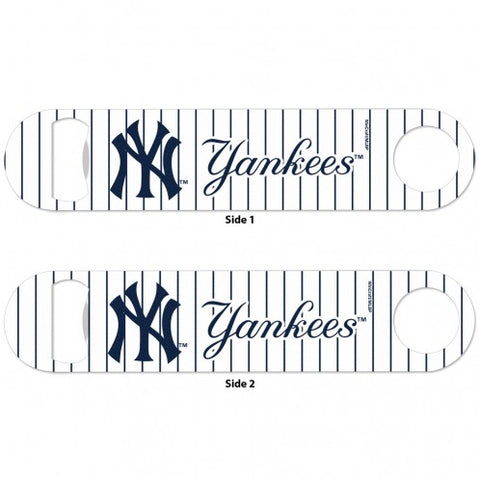 Yankees SLOGAN METAL BOTTLE OPENER 2 SIDED