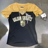 Golden Knights Women's Mesh Lace Up T