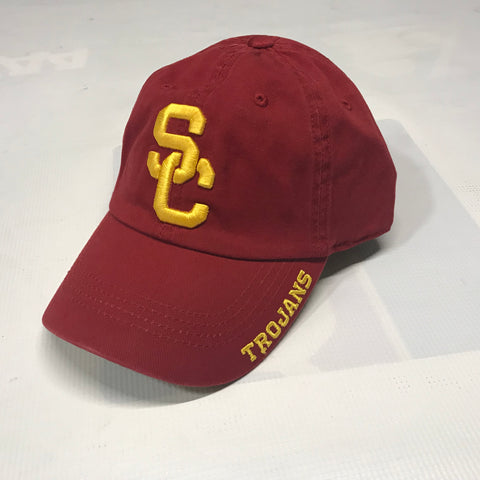 USC Basic Slouch Hat-Maroon