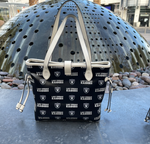 Las Vegas Raiders Pattern Purse Carry All Bag Tote